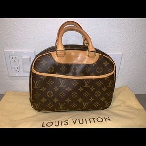 Authentic Louis Vuitton Trouville satchel handbag